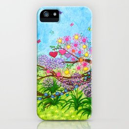 Garden for 3 sisters iPhone Case