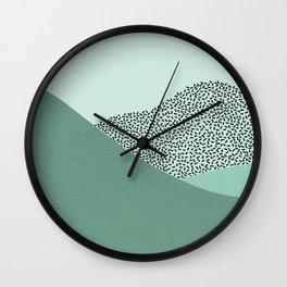 Mint Slice: Cookie Crew Wall Clock
