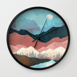 Fall Transition Wall Clock