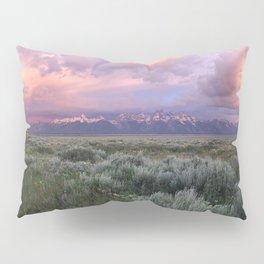 Teton Range Sunrise Pillow Sham