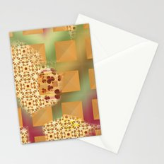 Grid & pattern Stationery Cards