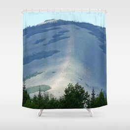 Hog's Back Mountain Shower Curtain