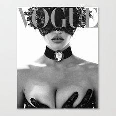 Fashion Photography VOGUE Paris Fashion Print More Issues Than Vogue Fashionista Fashion Wall Art Canvas Print