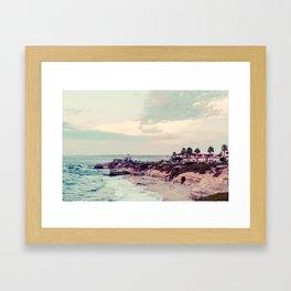 San Diego Beach Fine Art Print Framed Art Print