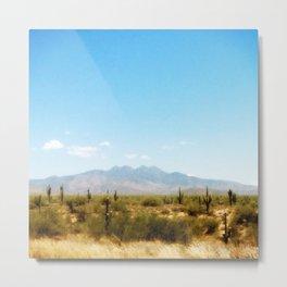 Painterly Southwest Metal Print