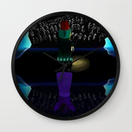 Night In The Woods Lost Constellations Wall Clock