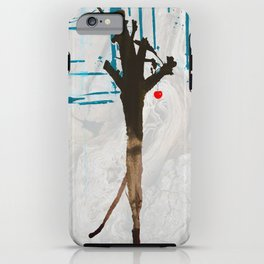 Winter Fruit HaiKu iPhone Case