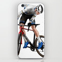 Mathieu van der Poel -  Whip iPhone Skin