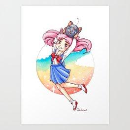 Chibiusa Art Print