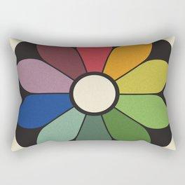 James Ward's Chromatic Circle Rectangular Pillow