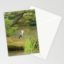 Golden Heron Stationery Cards