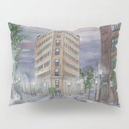 Lynn at First Light Cityscape Pillow Sham