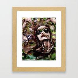 Slothful Framed Art Print