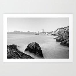Let's get to San Francisco Art Print