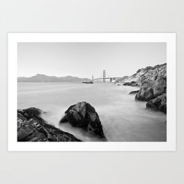 Let's get to San Francisco Art Print