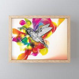 Flights of Color Framed Mini Art Print