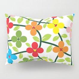 Spring white panel Pillow Sham