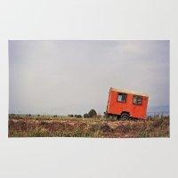spanish Area & Throw Rugs featuring Spanish Caravan  by Yehuda Swed