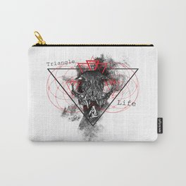 Triangle of life Carry-All Pouch