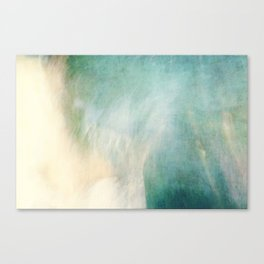 Waterfall ICM No 2 Canvas Print