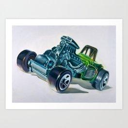 32 Bantam Roadster Altered Art Print