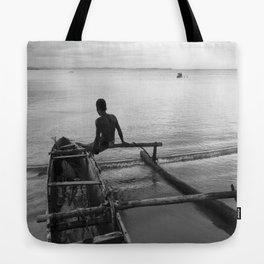Malagasy canoe Tote Bag