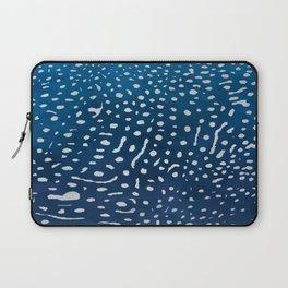 Whale shark skin. Laptop Sleeve