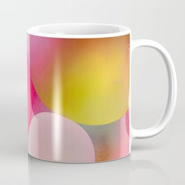 Multicolored Pastel Oil Bubble Water Drops Coffee Mug