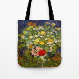 Bouquet of Flowers in a Vase Vincent van Gogh Oil on canvas 1890 Tote Bag