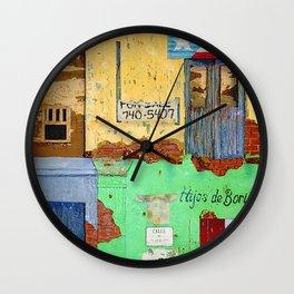 Hijos De Borinque Wall Clock