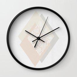 Minimalist Geometric II Wall Clock