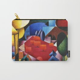 Lake, Forest, and Alpine Orchard Landscape by Jean Metzinger Carry-All Pouch