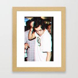 3D Harry Styles Framed Art Print