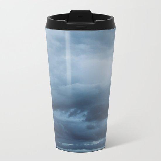 Ocean Storm Metal Travel Mug