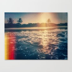 cotton's sunset Canvas Print