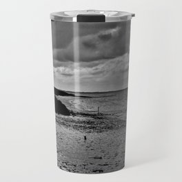 River to the open Danish Sea Travel Mug