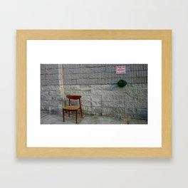 sprinklers Framed Art Print