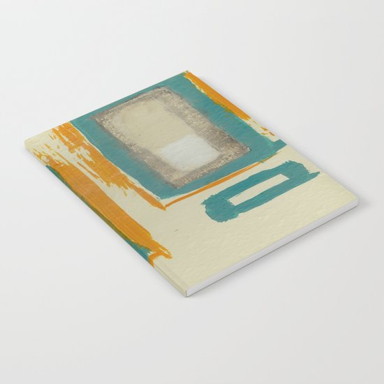 Soft And Bold Rothko Inspired - Modern Art Notebook