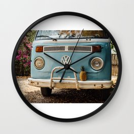 Combi & Piña Wall Clock