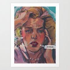 ... but i love you ... Art Print