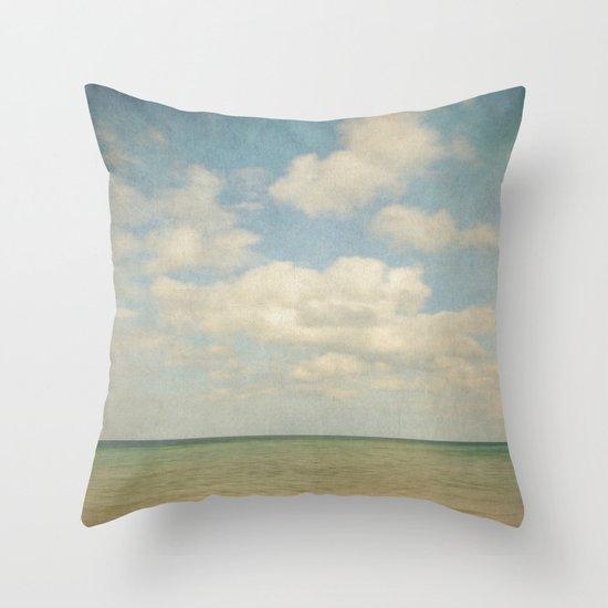 sea square III Throw Pillow
