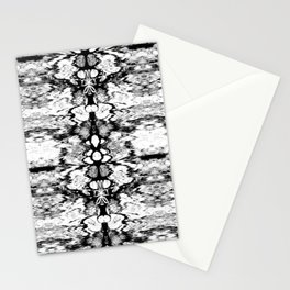 Modern Bohemian Black and White Pattern Stationery Cards