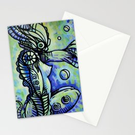 """The Ocean Temptress"" (Original) Stationery Cards"