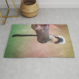 Pictorial Cotton Head Monkey2 Rug