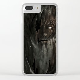Your neighbor the creepy tree grandpa Clear iPhone Case