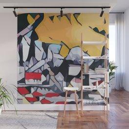 Abstract 100 #1 Wall Mural