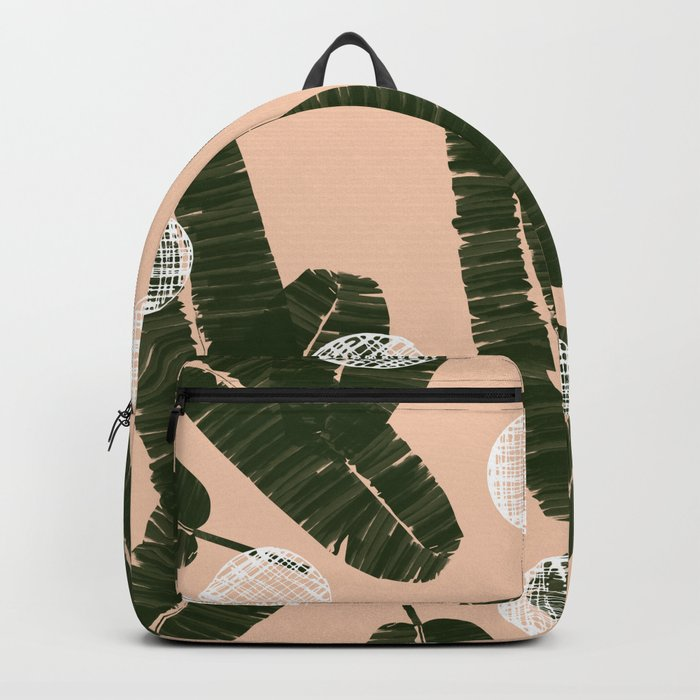 Palms & Dots #society6 #decor #buyart Backpack