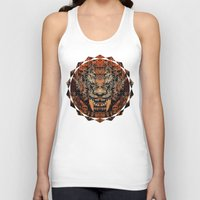 tooth Tank Tops featuring Saber Tooth by Zandonai