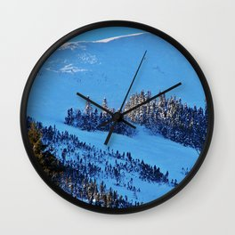 Above the Treeline, Mount Hog's Back Wall Clock