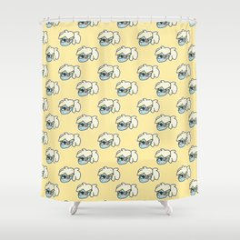 Kate Carleton Illustration Shower Curtain